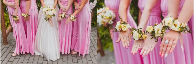 Цветки свадьбы Srt bridal стоковое фото