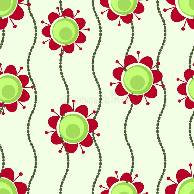 цветки шариков ретро бесплатная иллюстрация