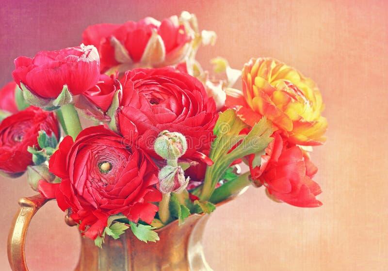 Цветки лютика стоковые изображения rf