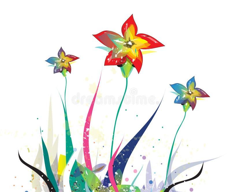 цветки иллюстрация штока