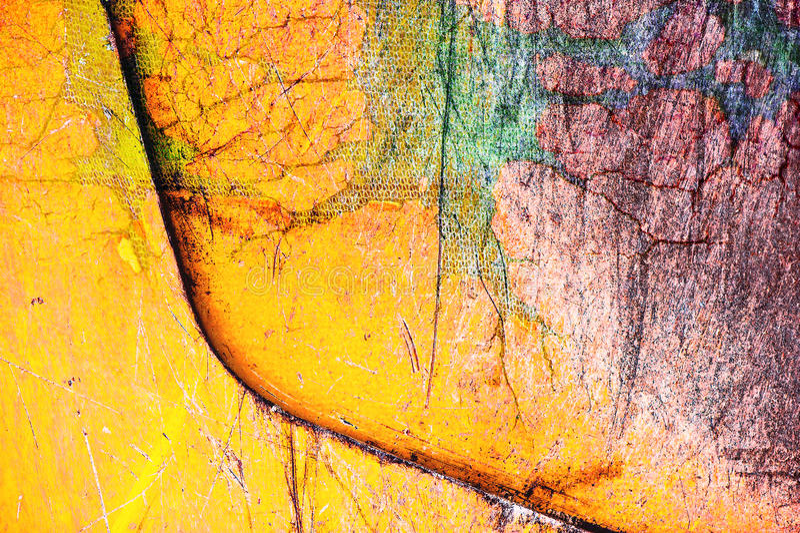 Цветные барьеры искусства иллюстрация штока