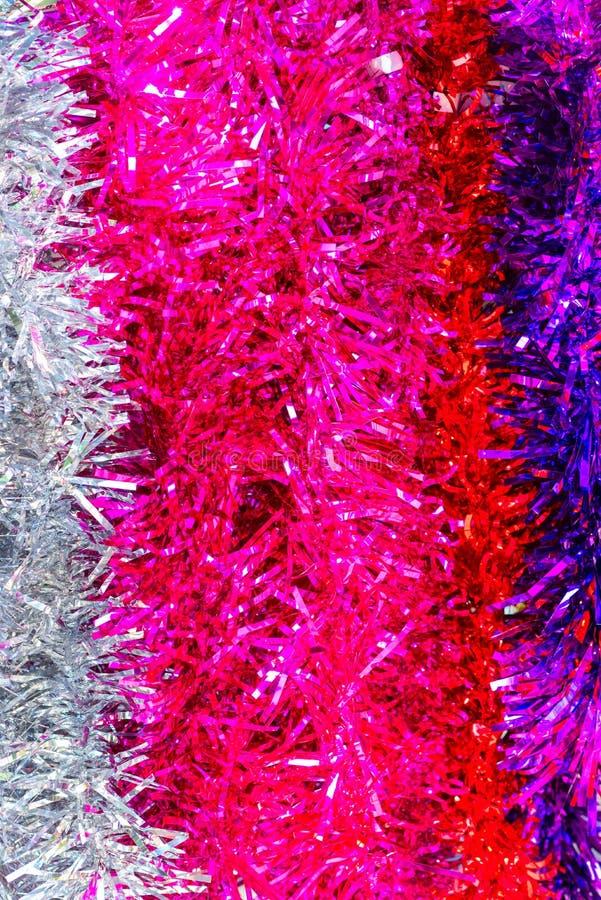 Цветные суккоты, сукконы или рождественские желеводки пушистые золотые, фиолетовые, серебряные, желтые, розовые желтые, розовые ж стоковая фотография rf