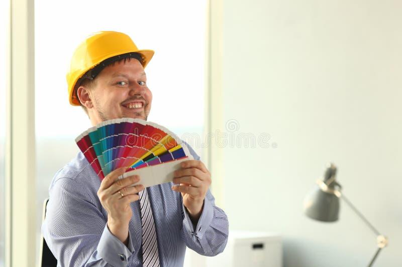 Цветовая палитра Holt график-дизайнера архитектурноакустическая стоковые фотографии rf