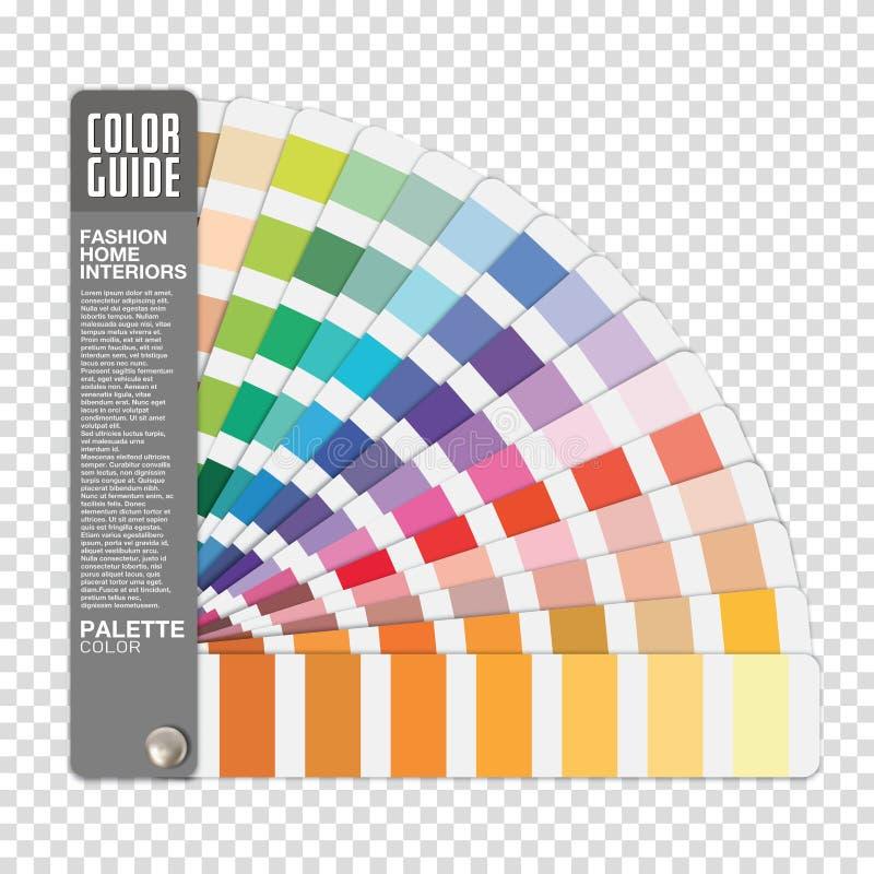 Цветовое руководство по прозрачному фоновому вектору бесплатная иллюстрация