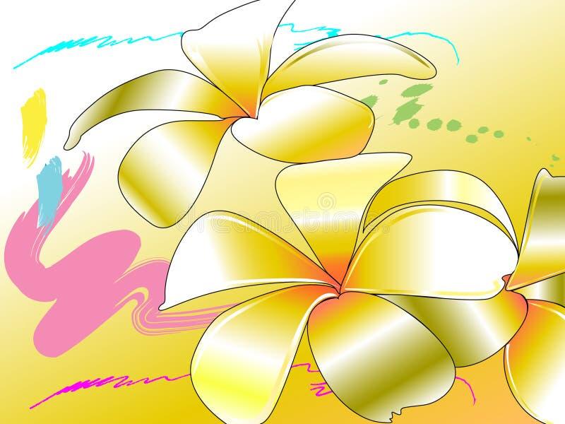 Цветок искусства иллюстрация вектора