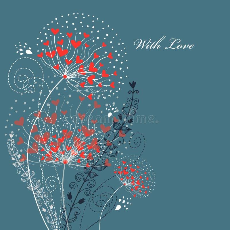 цветок карточки бесплатная иллюстрация