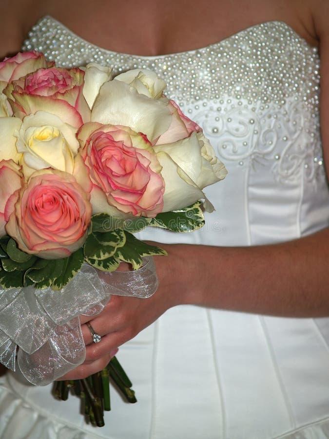 цветок невесты букета стоковые фотографии rf