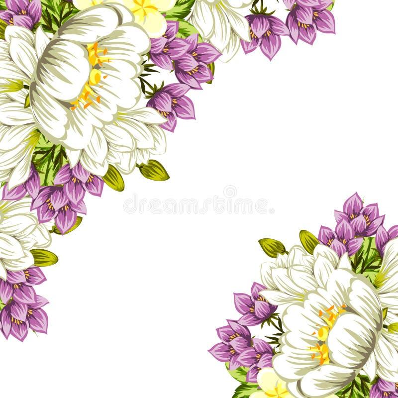 Download цветок предпосылки свежий иллюстрация вектора. иллюстрации насчитывающей план - 40591479