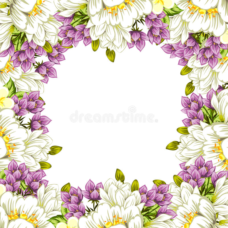 Download цветок предпосылки свежий иллюстрация вектора. иллюстрации насчитывающей конспектов - 40591728
