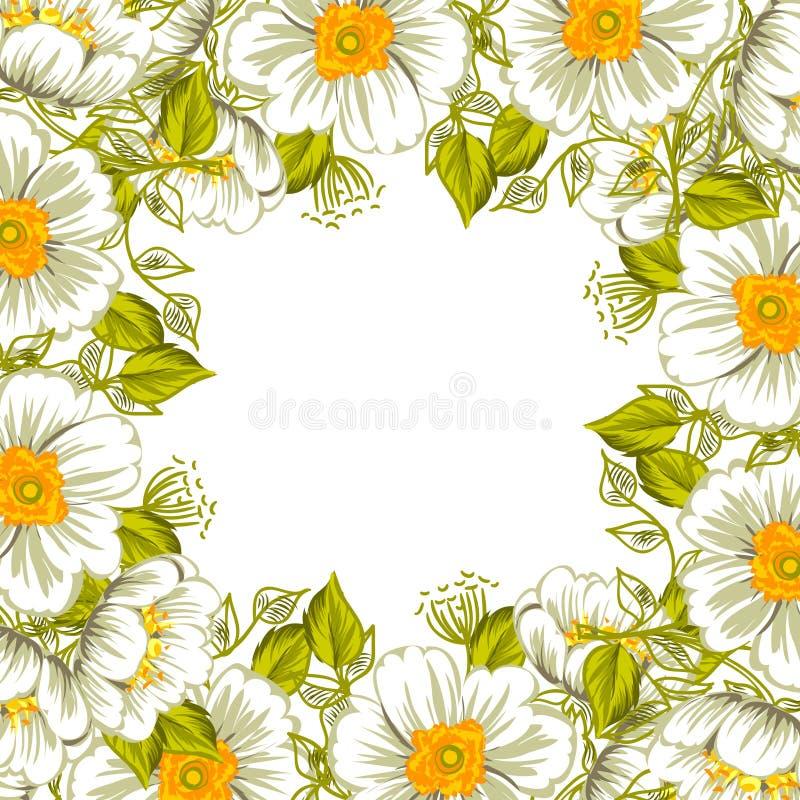 Download цветок предпосылки свежий иллюстрация вектора. иллюстрации насчитывающей чертеж - 40591771