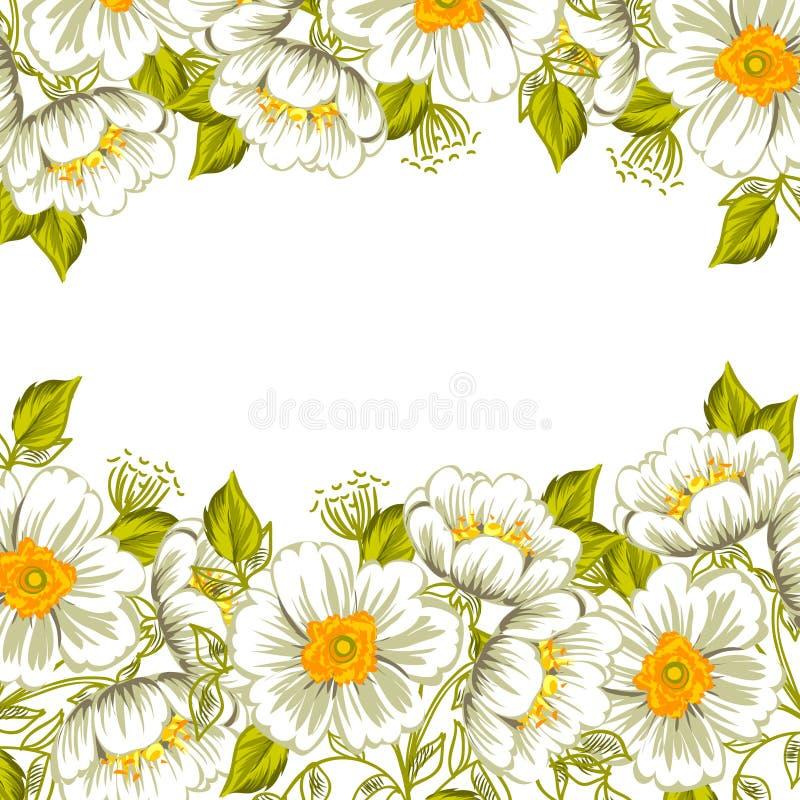 Download цветок предпосылки свежий иллюстрация вектора. иллюстрации насчитывающей творческо - 40591833