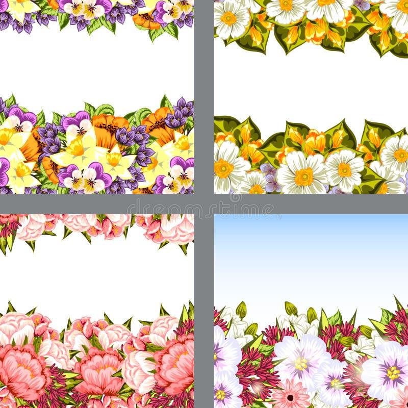 цветок предпосылки свежий иллюстрация штока
