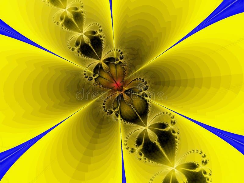 цветок пчелы стоковые изображения rf