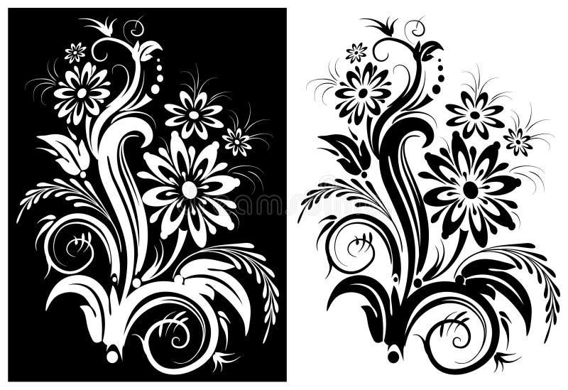 Цветок стилизованный