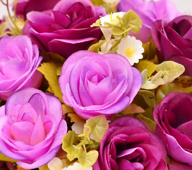 Цветок ткани, флористическая предпосылка стоковое изображение