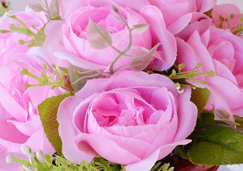 Цветок ткани, флористическая предпосылка стоковые изображения