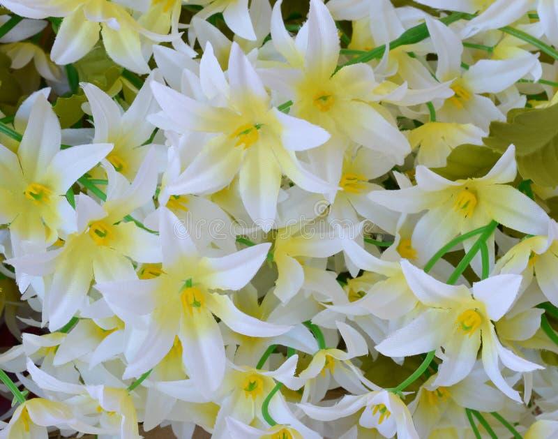 Цветок ткани, флористическая предпосылка стоковое фото