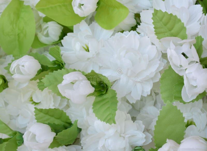 Цветок ткани, флористическая предпосылка стоковая фотография