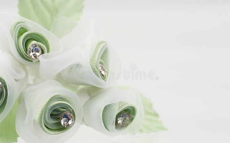 цветок ткани стоковое фото rf
