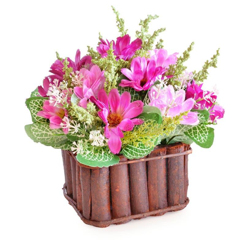 Цветок ткани стоковые изображения rf