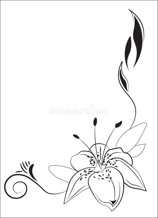 Цветок фантазии лилии красивый бесплатная иллюстрация