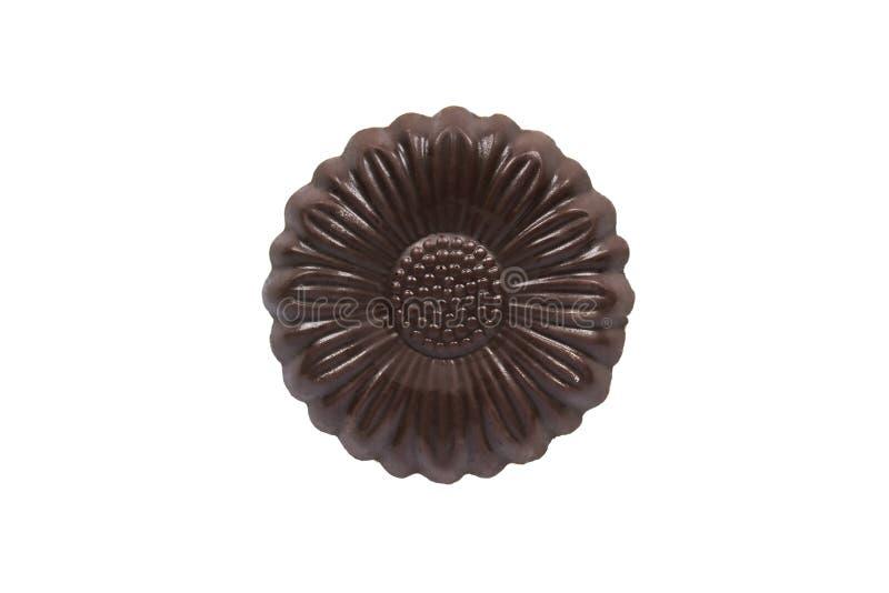 Цветок шоколада стоковая фотография