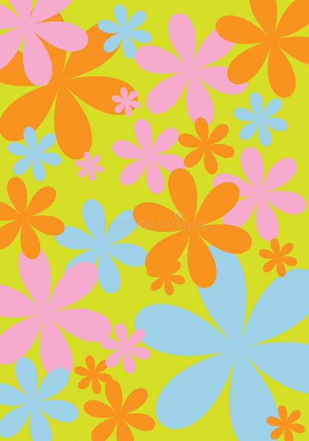 цветок 4 конструкций стоковое изображение rf