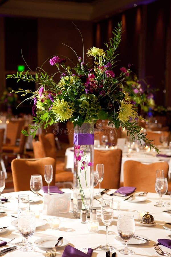 цветок centerpiece стоковые изображения rf