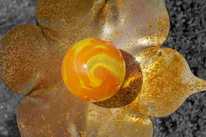Цветок Deco стоковая фотография rf
