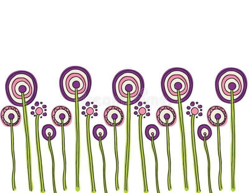 Цветок Fleurs Flores иллюстрация штока