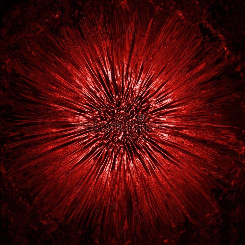 Цветок Grunge стоковые изображения rf