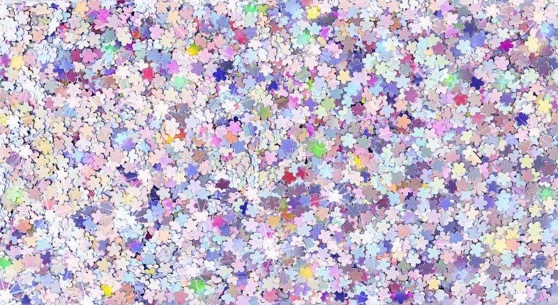 Цветочий блестящий свет искрит текстурированный фон стоковые фото