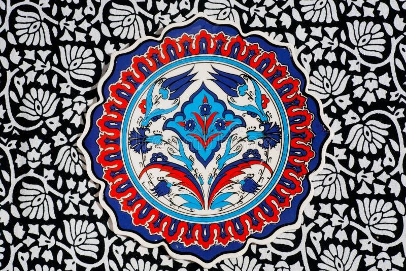 Цветочные узоры винтажных плиток стоковое изображение rf