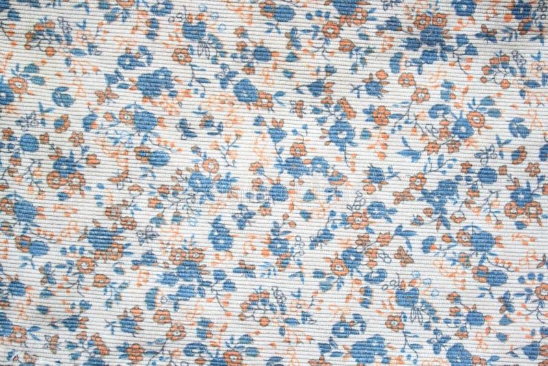 Цветочный узор на безшовной ткани. Букет цветка. стоковое изображение rf