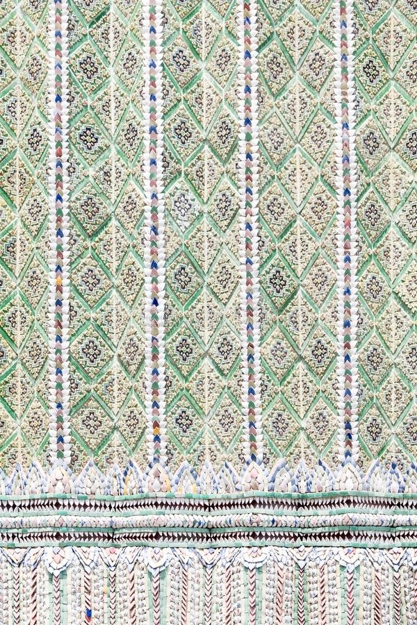 Цветочный узор от керамических плиток стоковое фото rf