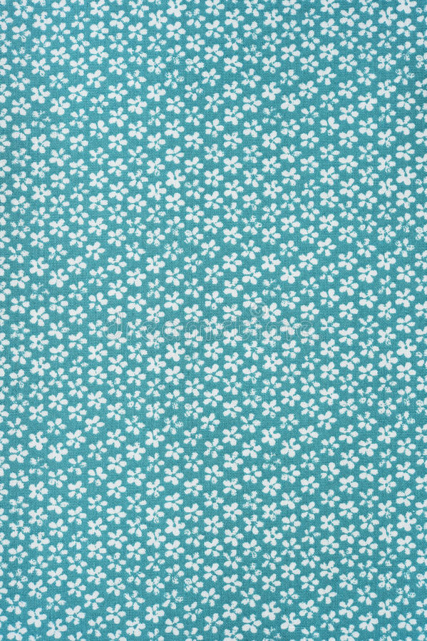 Цветочный узор ткани текстуры предпосылки стоковая фотография rf