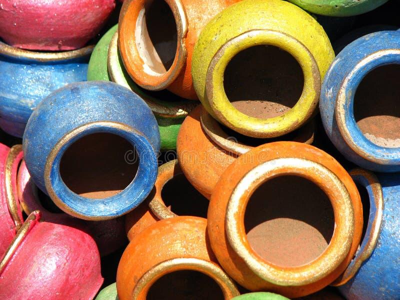 цветы глины стоковая фотография rf
