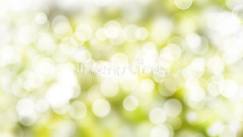 Цвет абстрактной нерезкости природы текстуры зеленый и предпосылка природы bokeh стоковое изображение rf