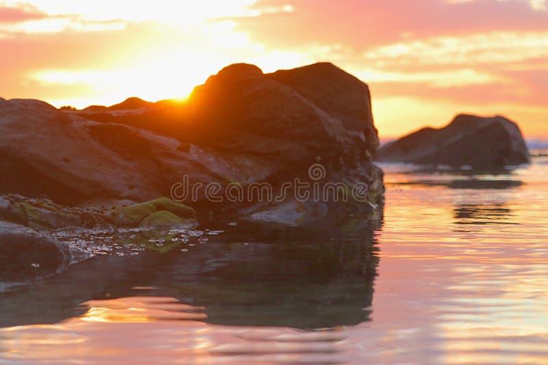 Цвет восхода солнца стоковая фотография rf