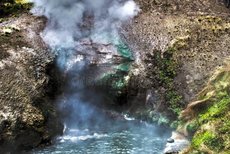 Цвет гейзера стоковое фото