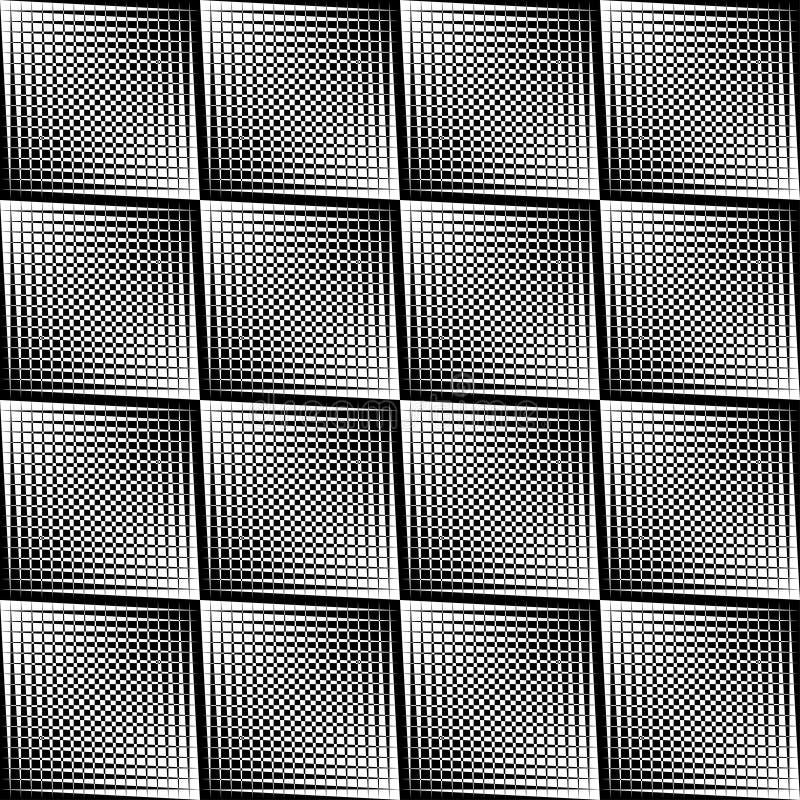 Цвет геометрической картины черно-белый бесплатная иллюстрация