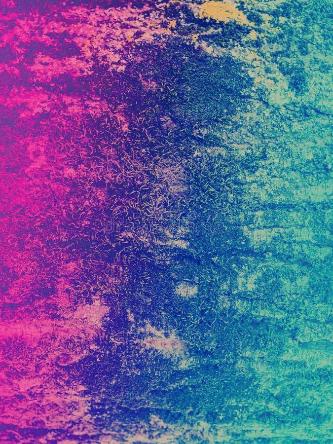 Цвет градиента тонизировал текстуру лесного дерева стоковые изображения rf
