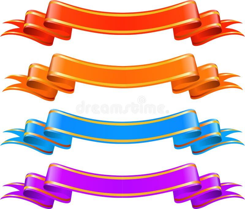 цвет знамен стоковая фотография rf