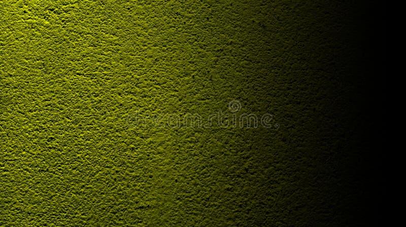 Цвет конспекта желтый черный с предпосылкой текстуры стены грубой сухой стоковая фотография