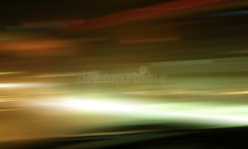 Цвет ночи улицы светлый стоковое фото