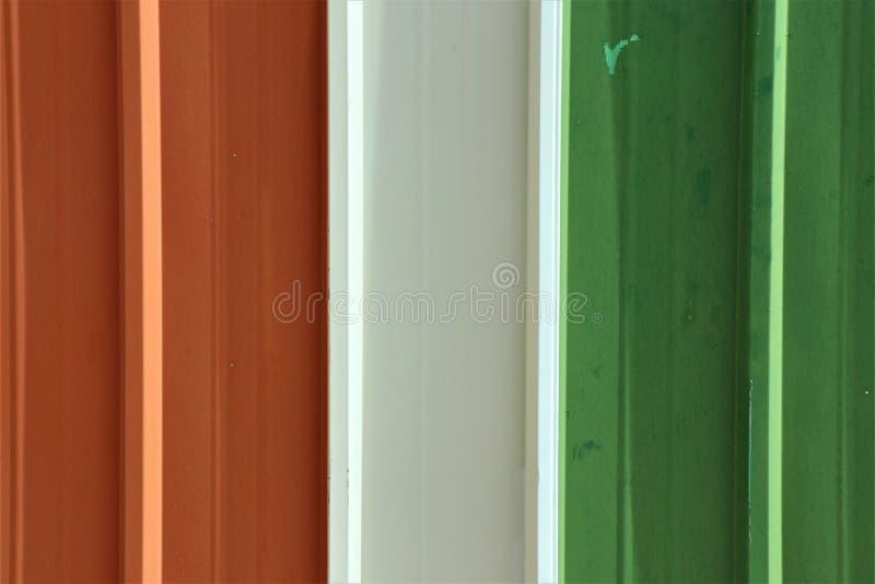 Цвет 3 плиты metall старой стоковые фотографии rf