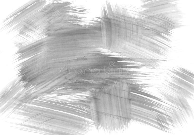Цвет серого цвета предпосылки brushstroke акварели бесплатная иллюстрация