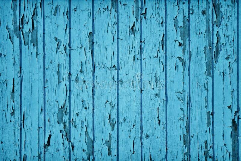 Цвет сини Teal типа год сбора винограда деревянный стоковые фото