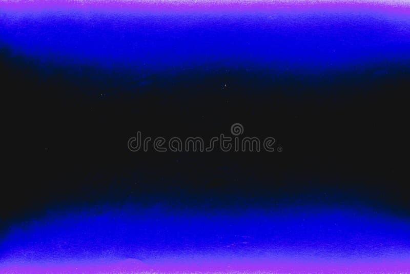Цвет состоять из предпосылки 2 цветов черный, голубой и фиолетовый стоковое фото