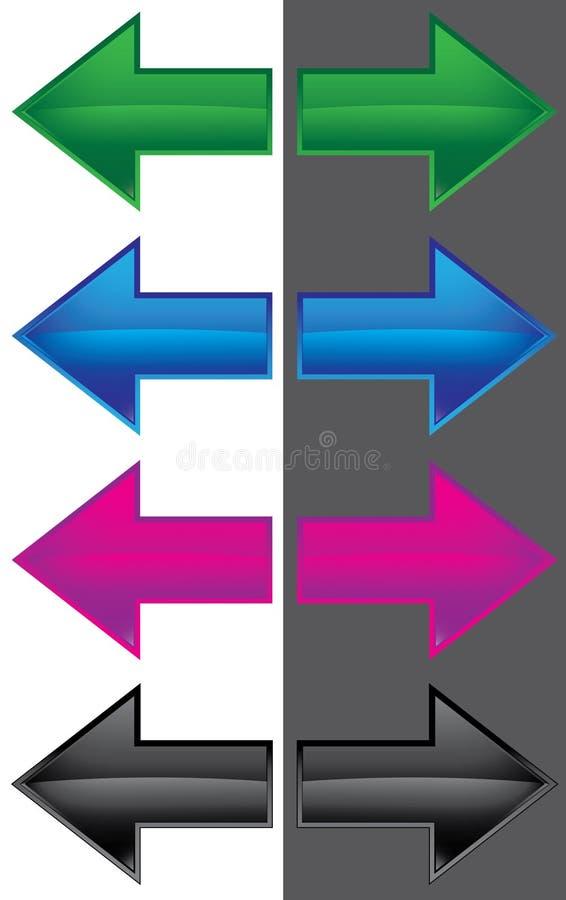 цвет стрелки стоковое фото